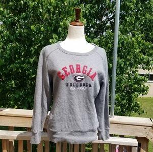 Georgia Bulldogs Grey Sweater